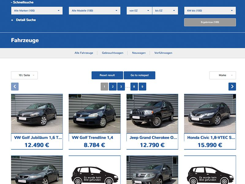 Fahrzeug-Grid 3 (ohne Sidebar)