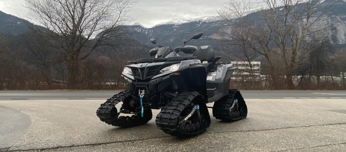 Unser neuer 1000er Bigfoot von CF-Moto!